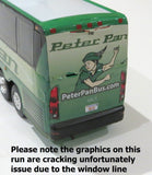Peter Pan - 1/87 Scale MCI J4500 Motorcoach Diecast Model