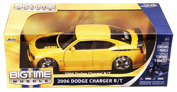 Yellow Dodge Charger Daytona R/T 1/18 Scale Diecast Model