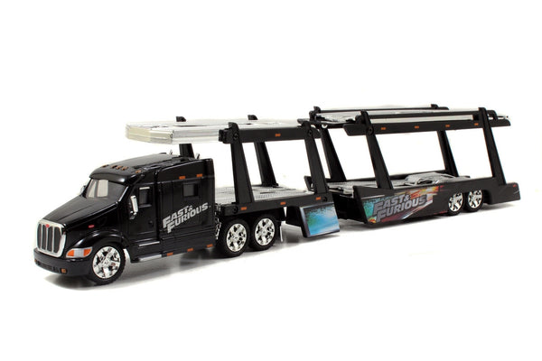 Fast and Furious Peterbilt 387 Car Carrier 1/64 Scale