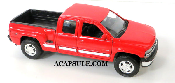 Red 1999 Chevrolet Silverado 1500 z71 Extended Cab 1/27 Scale Diecast Model