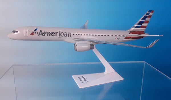 Flight Miniatures American Airlines Boeing 757-200 1/200 Scale Model with Stand N172AJ