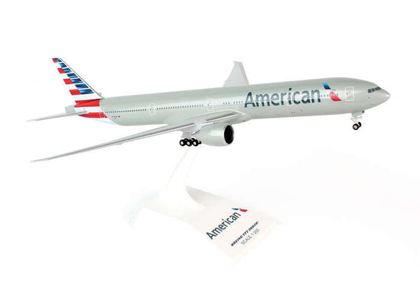 Skymarks American Airlines 777-300ER 1/200 Scale with Stand & Gears