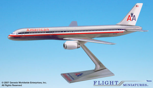 Flight Miniatures American Airlines Boeing 757-200 1/200 Scale Model with Stand