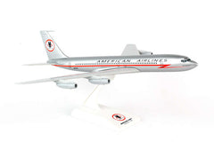 Skymarks American Airlines B707 Astrojet (Lighting Bolt) 1/150 Scale Model w Stand