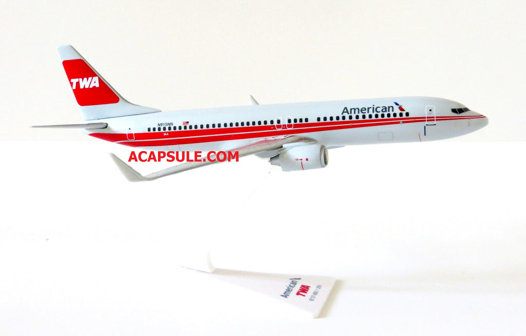 Flight Miniatures American Airlines TWA Heritage Livery Boeing 737