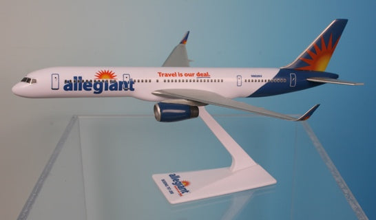 Flight Miniatures Allegiant Air Boeing 757-200 1/200 Scale Model with Stand N902NV