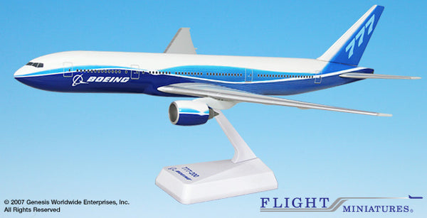 Flight Miniatures Boeing Demo 777-200 1/200 Scale Model with Stand