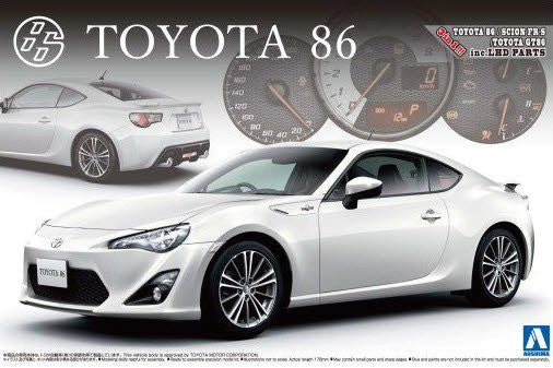 Aoshima 1/24 Scale Toyota 86 Model Kit