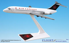 Flight Miniatures Air Canada DC-9 1/200 Scale Model with Stand