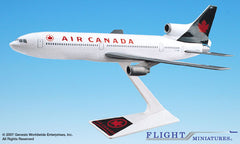 Flight Miniatures Air Canada Lockheed L1011 1/250 Scale Model with Stand