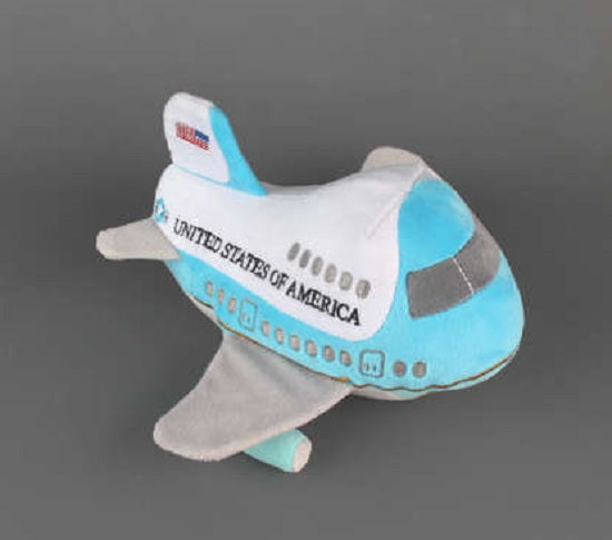Air Force One Plush Toy Airplane with Sound