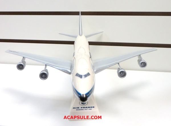 Flight Miniatures Air France Boeing 747-100 1/200 Scale Model with Stand (No Box)