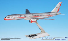 Flight Miniatures American Airlines Boeing 757-200 40th Ann Lightning Bolt Livery 1/200 Scale Model with Stand