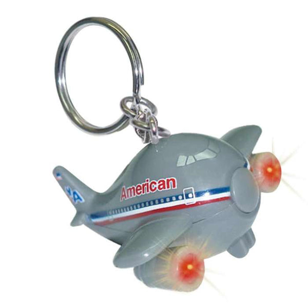 American Airlines Keychain with lights and sound