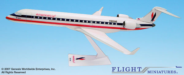 Flight Miniatures American Eagle CRJ700 1/100 Scale Model with Stand