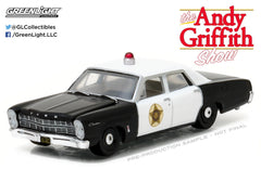 1967 Ford Custom Police Car from The Andy Griffith Show 1/64 Scale Diecast Car