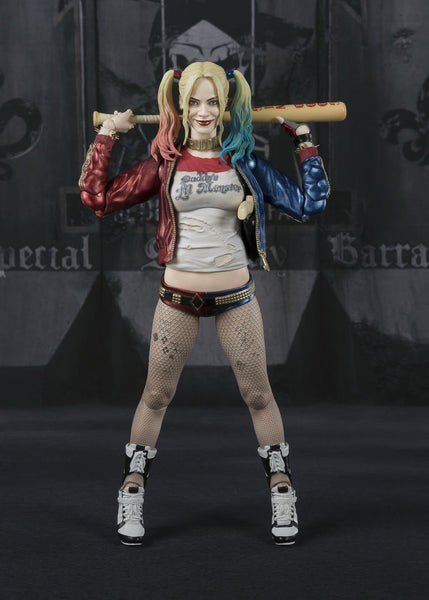 Bandai Tamashii Nations S.H. Figuarts Harley Quinn from the Movie Suicide Squad Figure