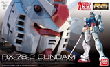 Gunpla 30th Anniversary RX-78-2 Gundam E.F.S.F. Prototype Close-Combat Mobile Suit Real Grade 1/144 Model Kit
