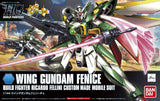 Bandai Build Fighters Wing Gundam Fence Richaro Fellini Custom Made Mobile Suit High Grade 1/144 Model Kit