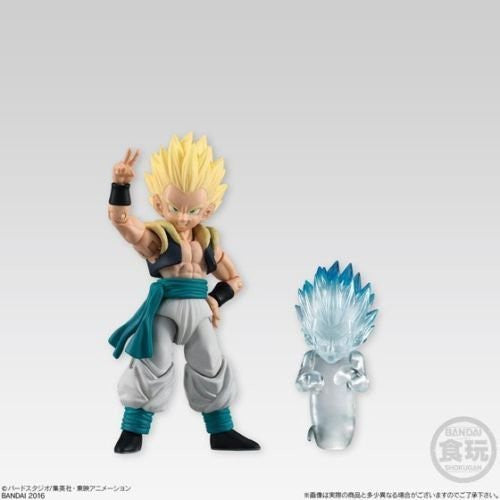 Bandai Shodo Vol 3 DragonBall Action Figures Set of 3 Majin-Boo, Vegetto and Gotenks + Ghost