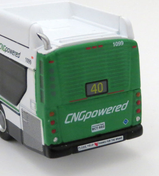 BC Transit 40 VIU Express 1/87 Scale New Flyer Xcelsior Transit Bus Model