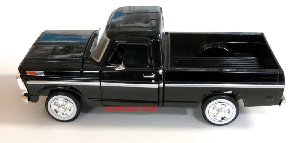 Black  Ford F  Pick Up   Scalecast Model