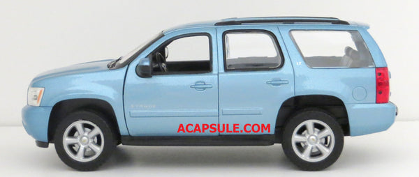 Blue Granite Metallic 2008 Chevy Tahoe 1/24th Scale Diecast Model