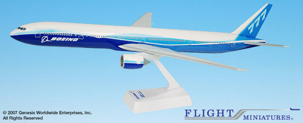 Flight Miniatures Boeing Airlines Boeing 777-300 1/200 Scale Model with Stand