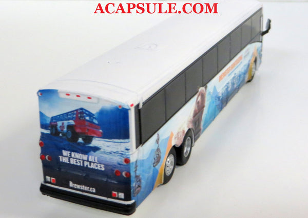 Brewster Sightseeing - 1/87 Scale MCI D4505 Motorcoach Diecast Model