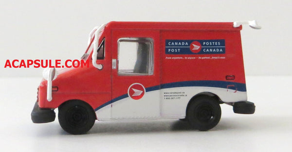 Canada Post Long Life Vehicle LLV 1/64 Diecast Model with Mailbox by Greenlight