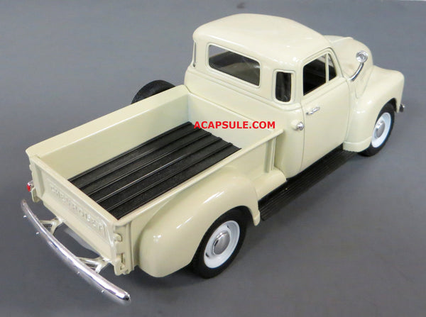 Tan 1953 Chevrolet 3100 Pick Up 1/24 Scale Diecast Model