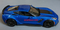 Blue Metallic 2015 Chevrolet Corvette Z06 1/24 Scale Diecast Model