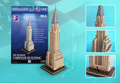 Chrysler Building 3D Building 70 Pieces