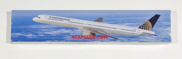 Flight Miniatures Continental Airlines Boeing 757-300 1/200 Scale Model with Stand N75851