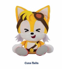 Tomy Cute Tails Emoji Plush - 8 Inches