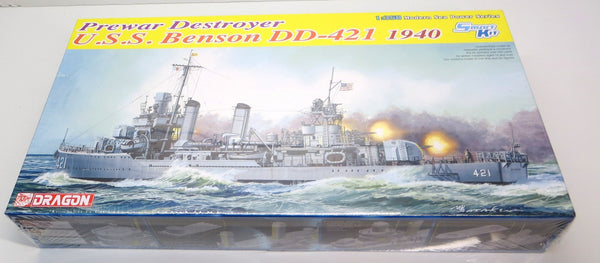 Dragon Models 1/350 Scale U.S.S. Benson DD-421, 1940 ~ Smart Kit