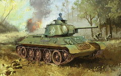 Dragon 1/35 T34/76 Mod 1943 Formochka with Commander's Cupola Model Kit