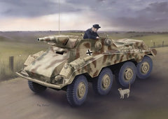 Dragon 1/35 Sd.Kfz.234/3 schwere Panzerpahwagen (7.5cm) Model Kit