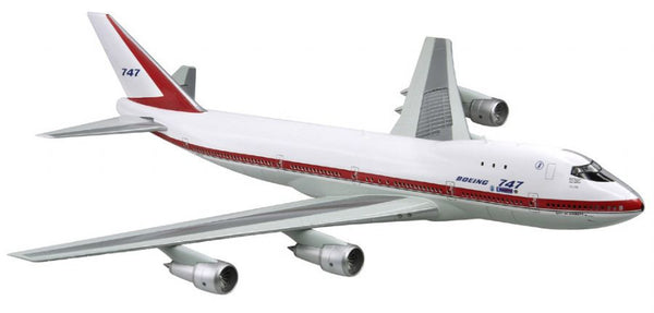 "Dragon Boeing 747-100 Maiden Flight ""City of Everett"" 1/144 Model with Cutaway Views"