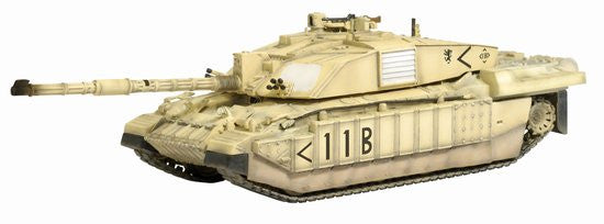Dragon Challenger 2 1/72 Scale Model HQ Squadron Command Troop Royal Scots