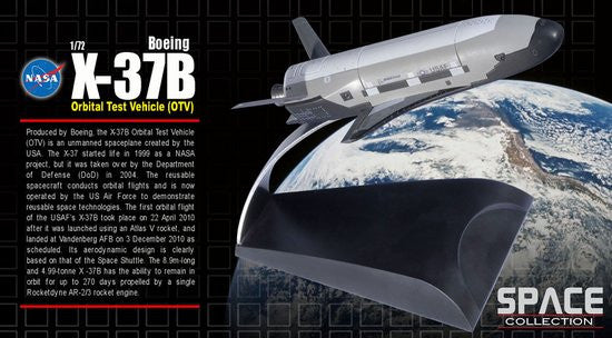 NASA 1/72 X-37B Orbital Test Vehicle (OTV) (Space)