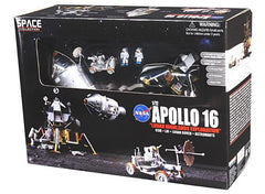 "Apollo 16 ""Lunar Highlands Exploration"" CSM + LM + Lunar Rover 1/72 Scale Diorama"