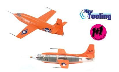"Bell X-1 ""Sonic Breaker"" 1+1 (Contains 2 replicas) 1/144 Scale Model"