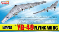 Dragon YB-49 Flying Wing (Metallic Skin) 1/200 Scale Model Plane with Stand