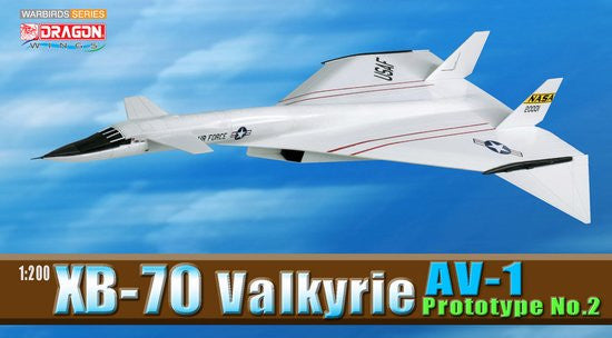 Dragon Wings NASA XB 70 Valkyrie AV 1 1/200 Scale Model with Stand