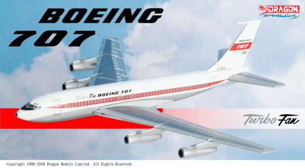 Dragon Wings Boeing 707 Turbo Fan 1/400 Diecast Model DRW55707