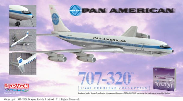 Dragon Wings Pan Am Boeing 707-320 1/400 Diecast Model