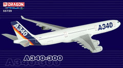 Airbus Corporate A340-300 with A380 Engine 1/400 Model w/ Stand & Gears