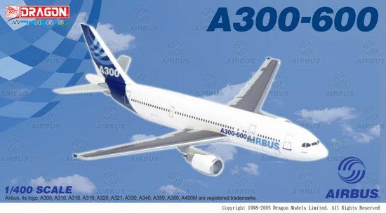 Dragon Airbus Corporate A300-600 1/400 Diecast Model