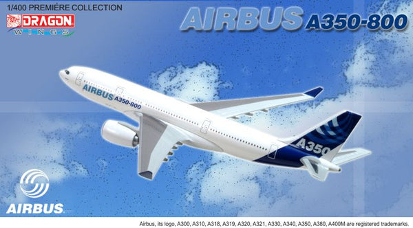 Airbus Corporate A350-800 1/400 Model with Stand and Gears